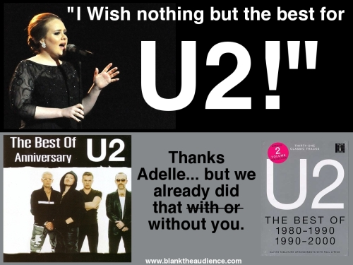 I wish nothing but the best for U2